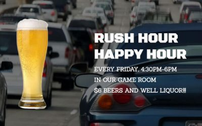 Rush Hour Happy Hour