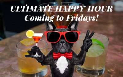 November 10th – Ultimate Happy Hour Fridays begins
