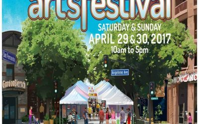 April 14th & 15th – Downtown Burbank Arts Festival